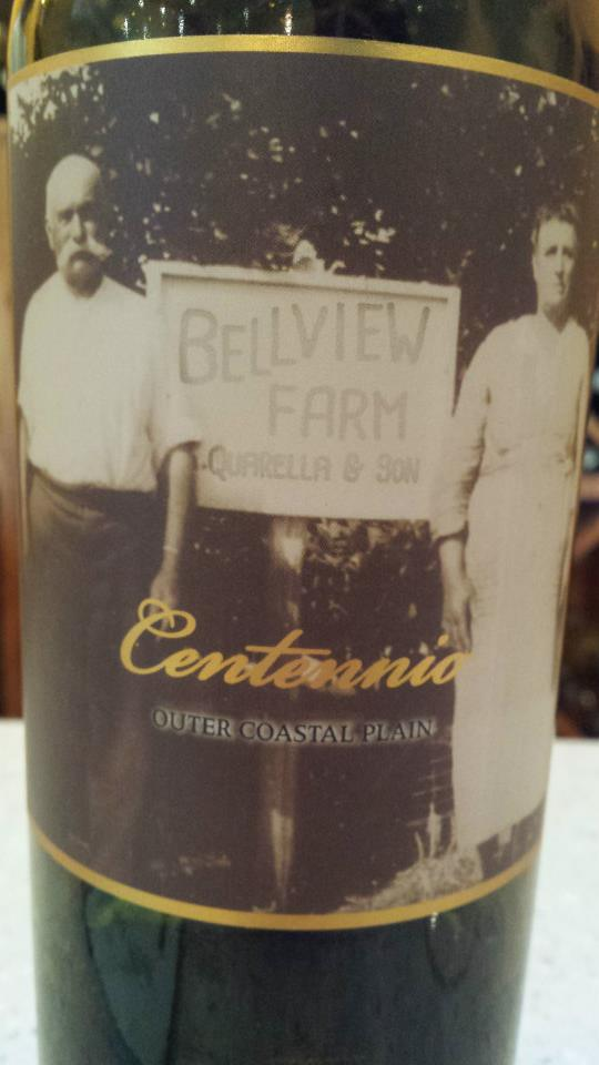 Bellview Winery – Centennio 2012 – Outer Coastal Plain