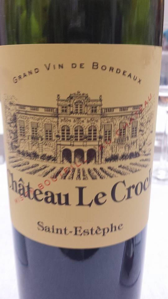 Château Le Crock 2013 – Saint-Estèphe – Crus Bourgeois