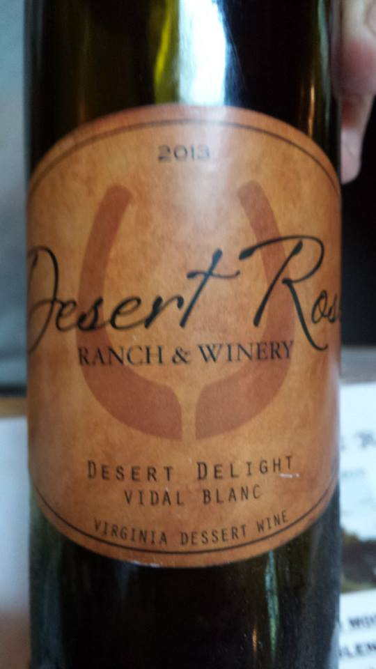 Desert Rose Ranch & Winery – Desert Delight 2013 – Virginia