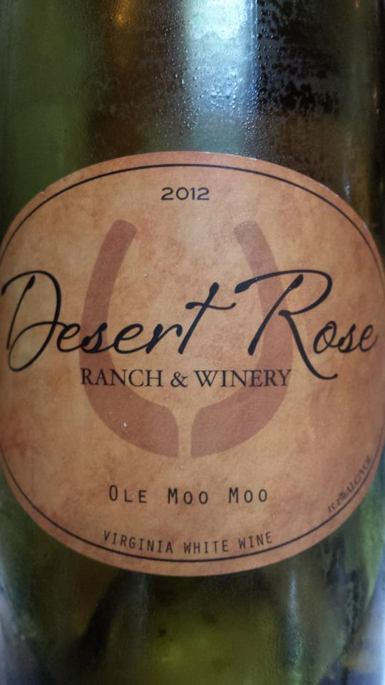 Desert Rose Ranch & Winery – Ole Moo Moo 2012 – Virginia