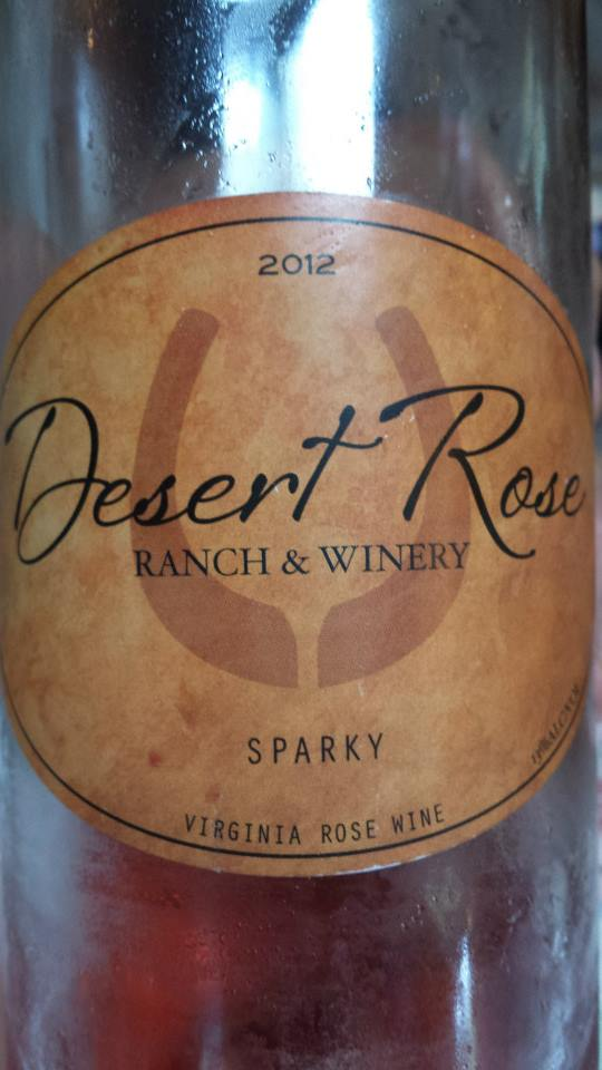 Desert Rose Ranch & Winery – Sparky 2012 – Virginia