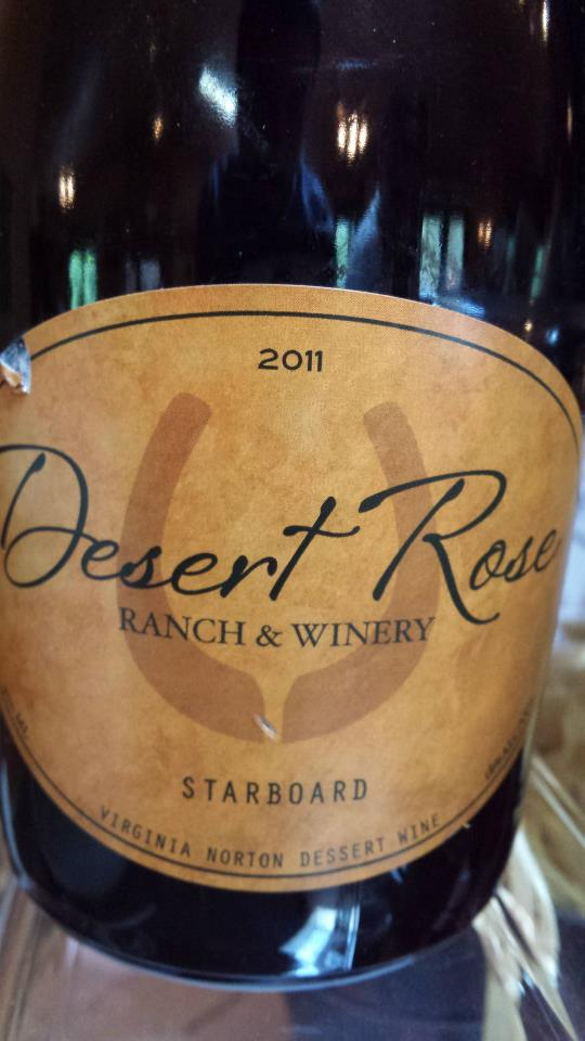 Desert Rose Ranch & Winery – Starboard 2011 – Virginia