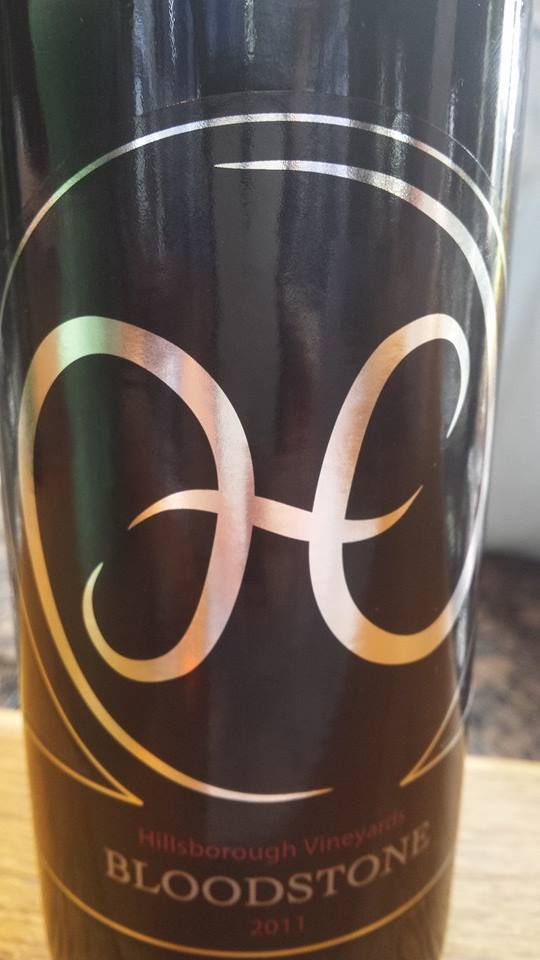 Hillsborough Vineyards – Bloodstone 2011 – Northern Virginia