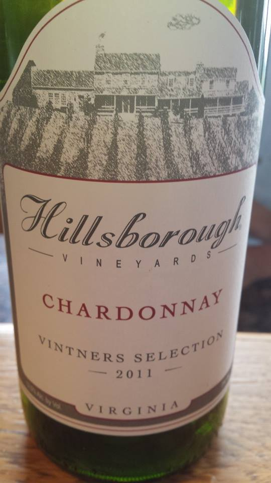 Hillsborough Vineyards – Chardonnay 2011 – Vintners Selection – Northern Virginia
