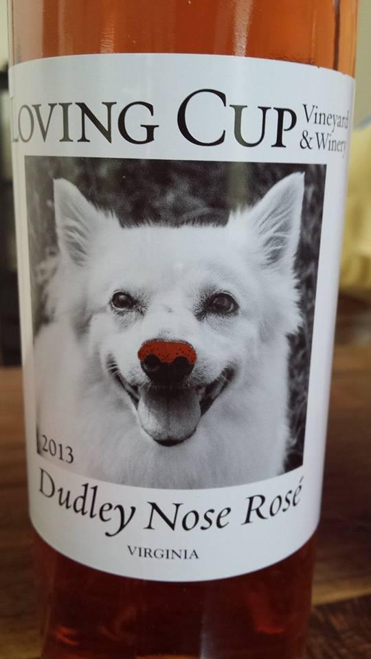 Loving Cup Vineyard & Winery – Dudley Nose Rosé 2013 – Virginia