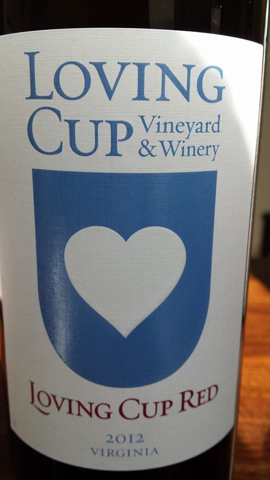 Loving Cup Vineyard & Winery – Red 2012 – Virginia