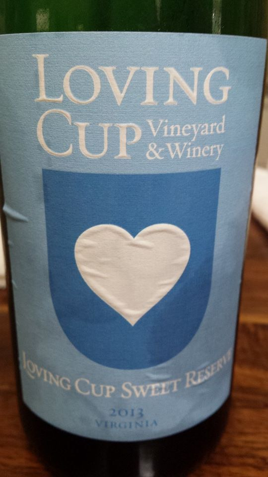 Loving Cup Vineyard & Winery – Sweet Reserve 2013 – Virginia