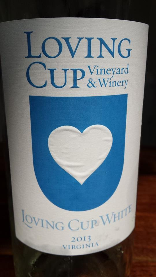 Loving Cup Vineyard & Winery – White 2013 – Virginia