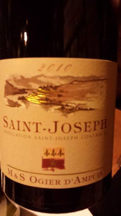 M & S Ogier d'Ampuis – Saint-Joseph 2010