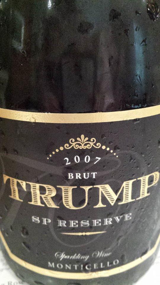 Trump – SP Réserve 2007 – Brut – Monticello