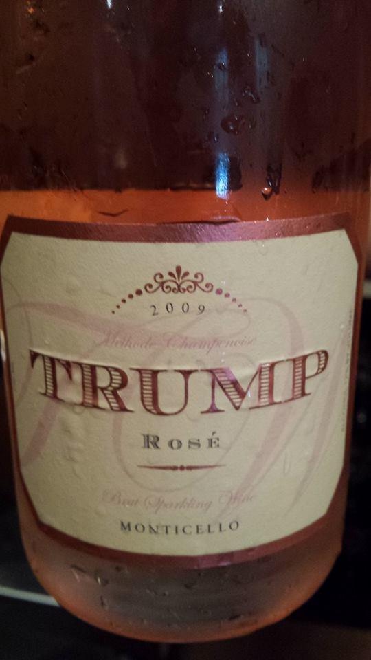 Trump – Sparkling Rosé 2009 – Brut – Monticello