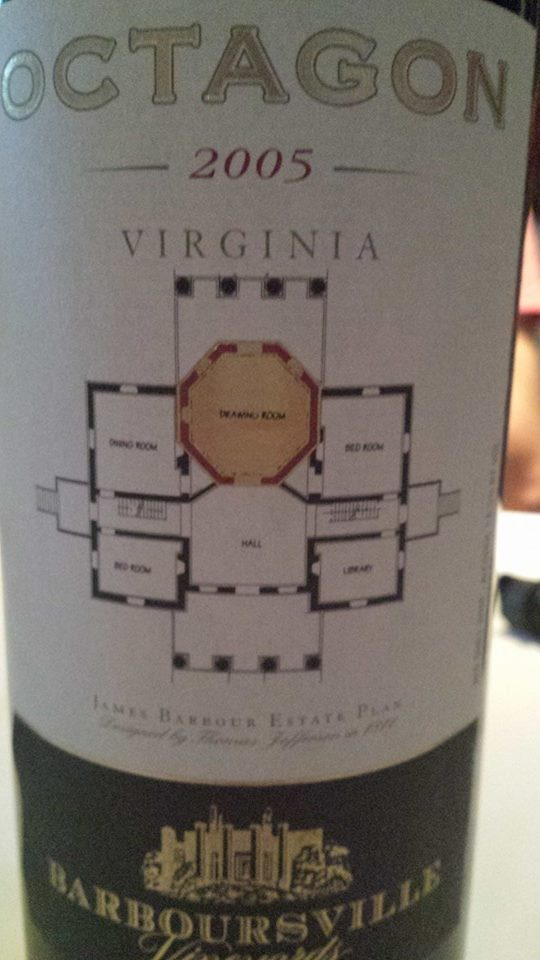 Barboursville Vineyards – Octagon 2005 – Monticello – Virginia