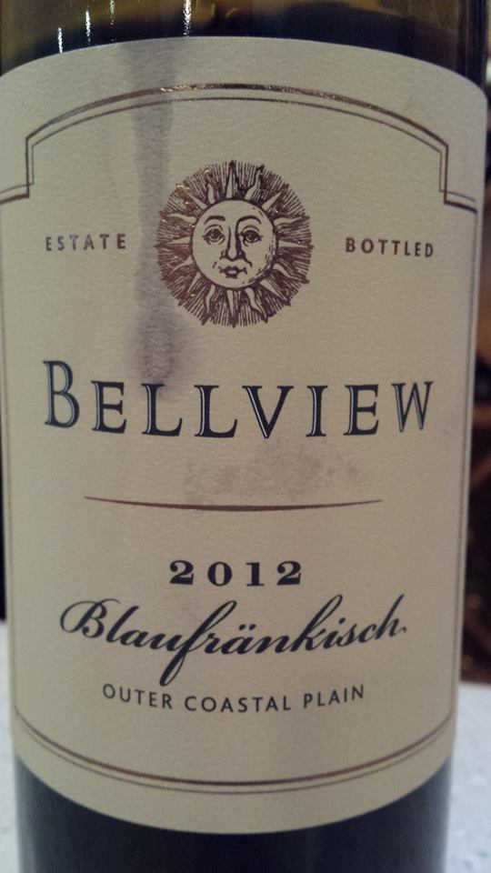 Bellview Winery – Blaufrankisch 2012 – Outer Coastal Plain