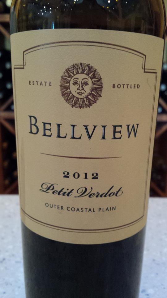 Bellview Winery – Petit Verdot 2012 – Outer Coastal Plain