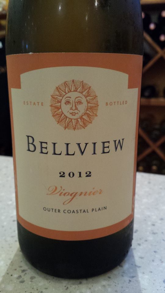 Bellview Winery – Viognier 2012 – Outer Coastal Plain