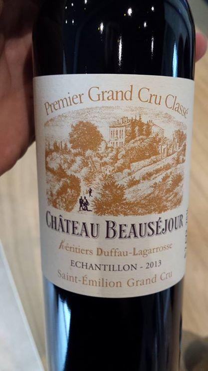 Château Beauséjour héritiers Duffau-Lagarrosse 2013 – 1er Grand Cru Classé, Saint-Emilion Grand Cru