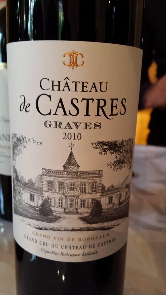 Château de Castres 2010 – Graves