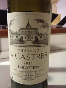 Château de Castres 2011 – Graves
