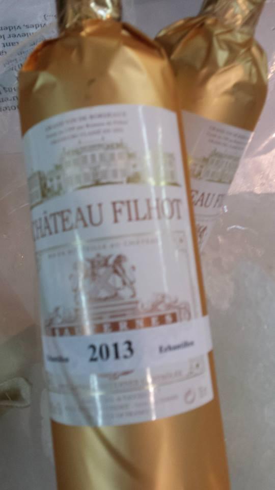 Château Filhot 2013 – 2nd Cru Classé de Sauternes