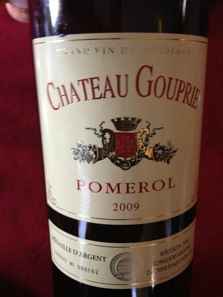 Château Gouprie 2009 – Pomerol