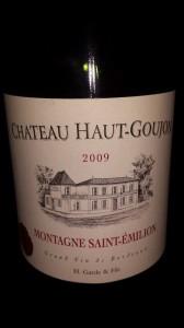 Château Haut-Goujon 2009 – Montagne Saint-Emilion