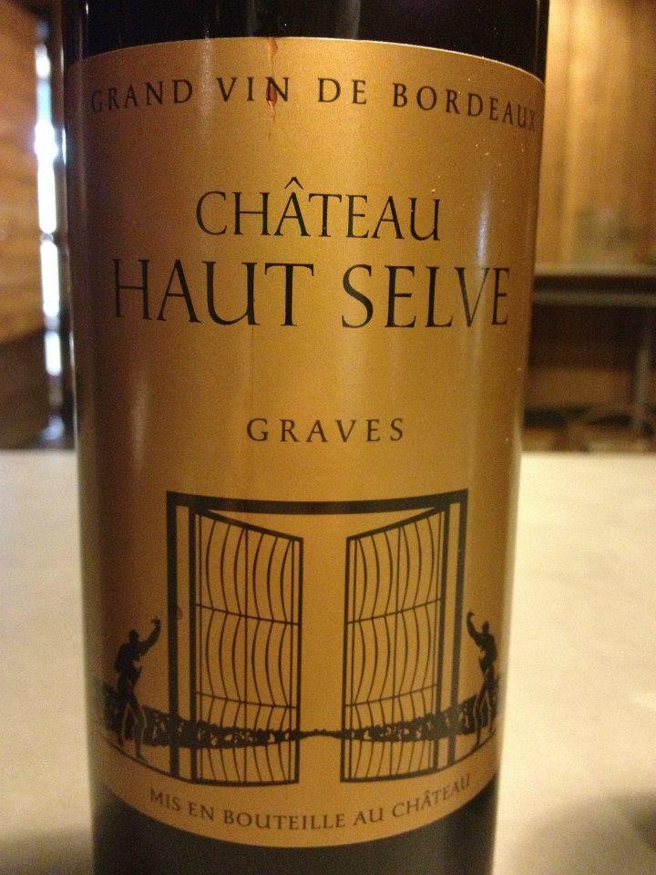 Château Haut Selve 2010 – Graves (Rouge)