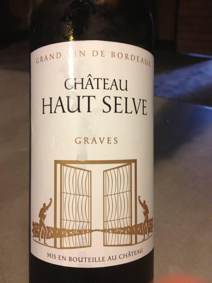 Château Haut Selve 2012 – Graves (Blanc)