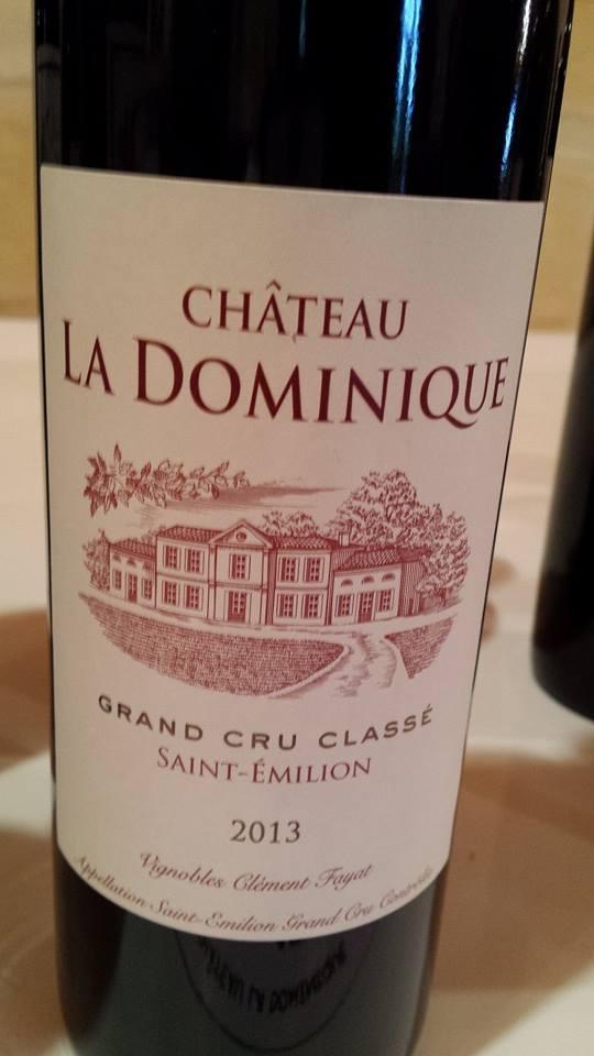 Château La Dominique 2013 – Grand Cru Classé – Saint-Emilion Grand Cru