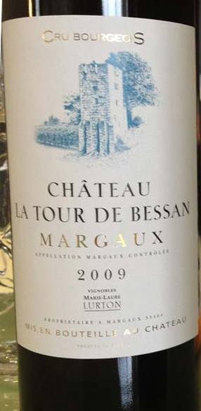 Château La Tour de Bessan 2009 – Margaux – Crus Bourgeois