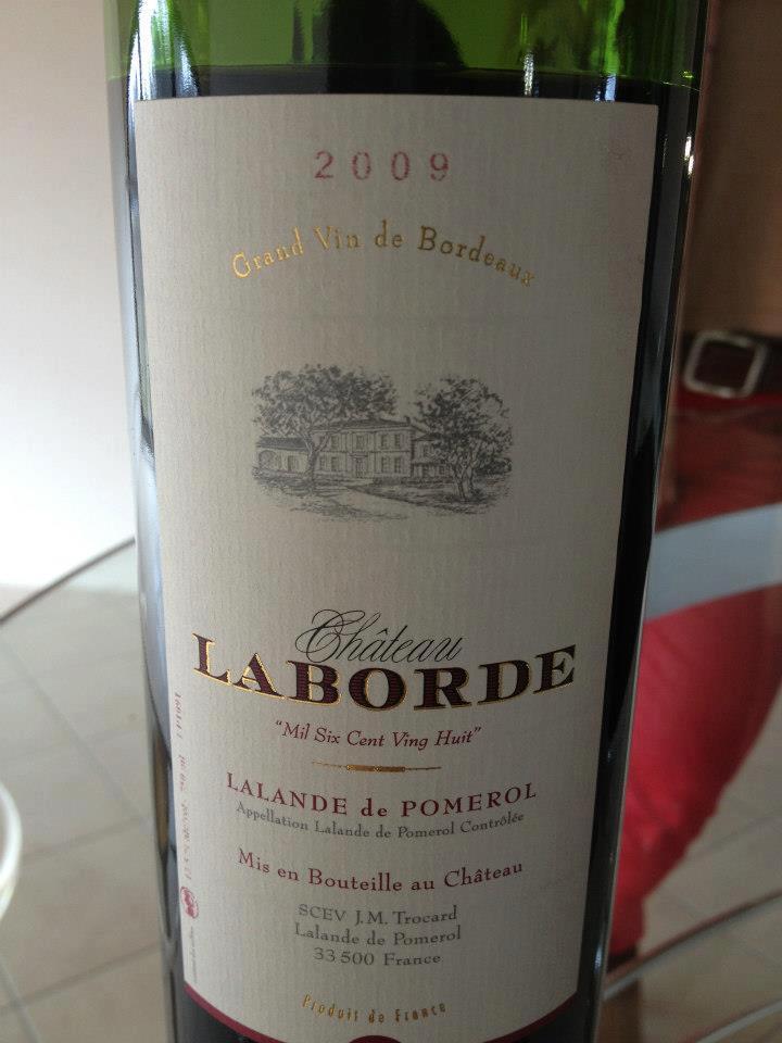 Château Laborde 2009 – Cuvée 1628 – Lalande de Pomerol