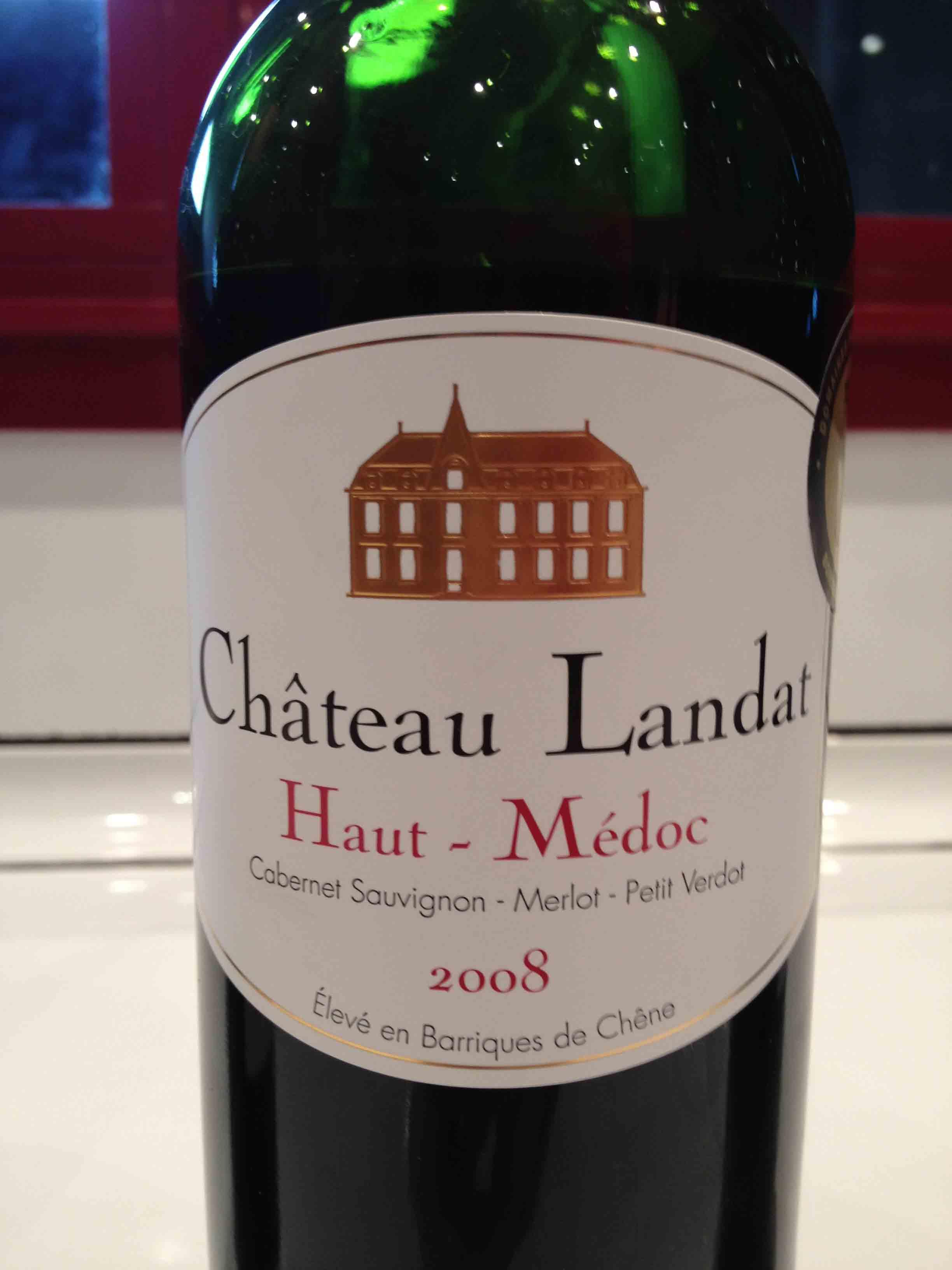 Château Landat 2008 – Haut-Médoc