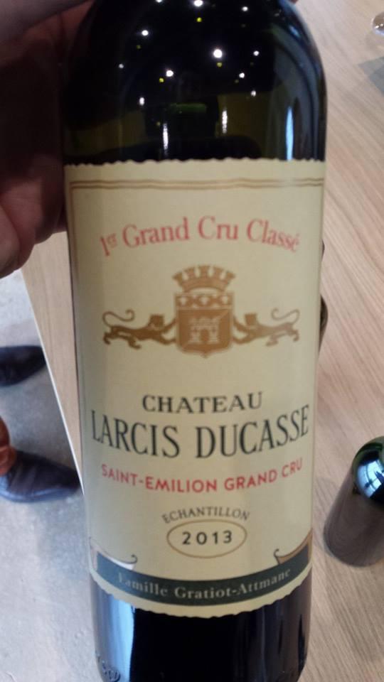 Château Larcis Ducasse 2013 – 1er Grand Cru Classé B, Saint-Emilion Grand Cru