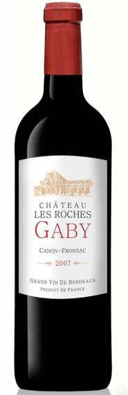 Château les Roches Gaby 2007 – Canon-Fronsac