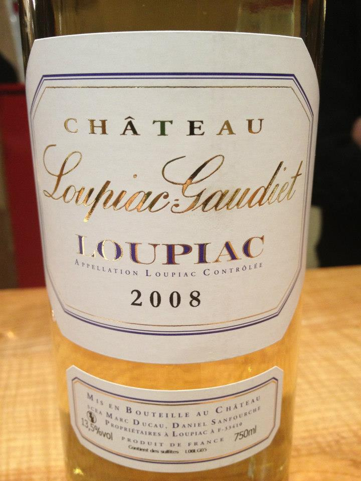 Château Loupiac-Gaudiet 2008 – Loupiac