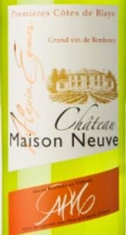 Chateau Maison Neuve 2011 – Blaye Côtes de Bordeaux