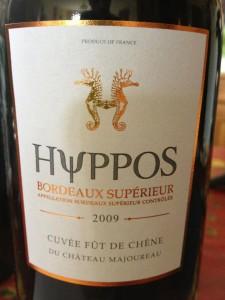 Hyppos Rouge du Château Majoureau 2009 – Bordeaux Supérieur