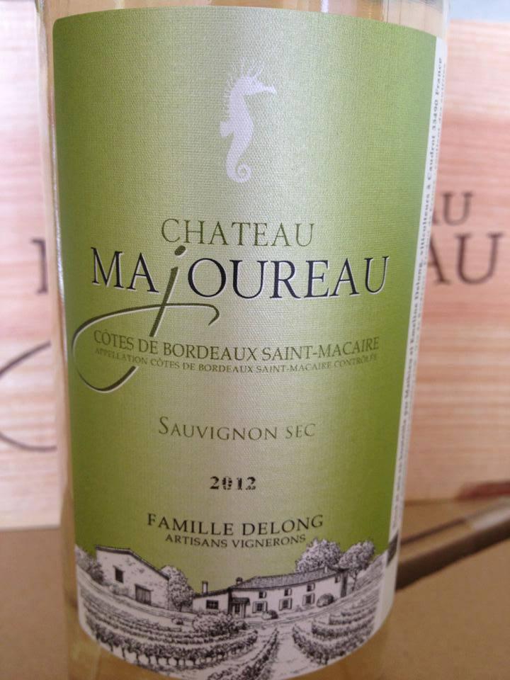 Château Majoureau – Sauvignon Sec 2012 – Côtes de Bordeaux Saint-Macaire