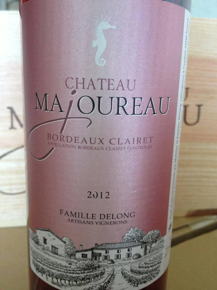 Le Clairet du Château Majoureau 2012 – Bordeaux Clairet