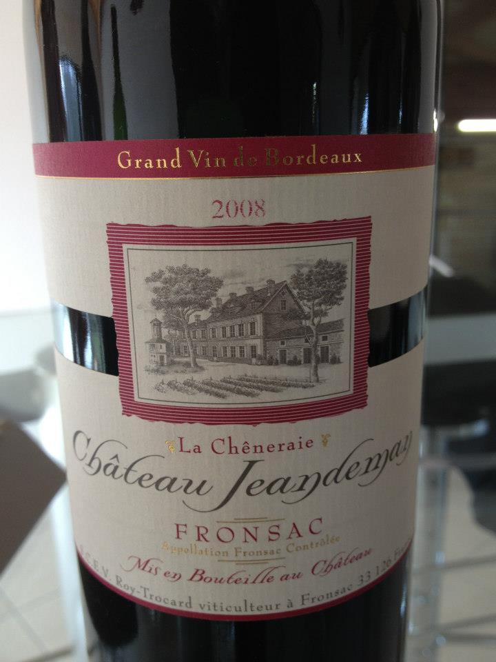 Château Jeandeman 2008 – Fronsac