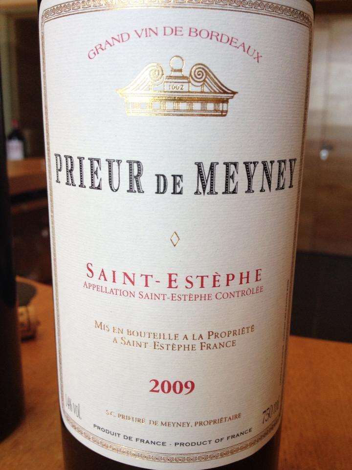 Prieur de Meyney 2009 – Saint-Estèphe