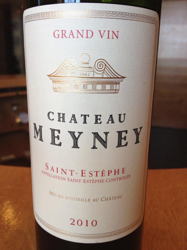 Château Meyney 2010 – Saint-Estèphe