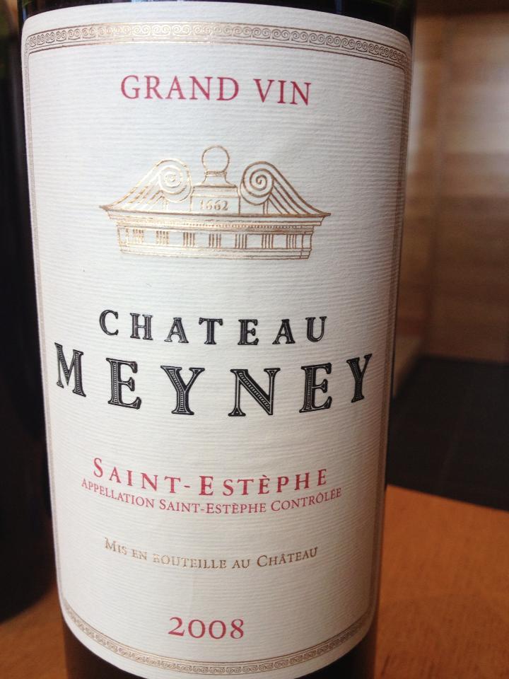 Château Meyney 2008 – Saint-Estèphe