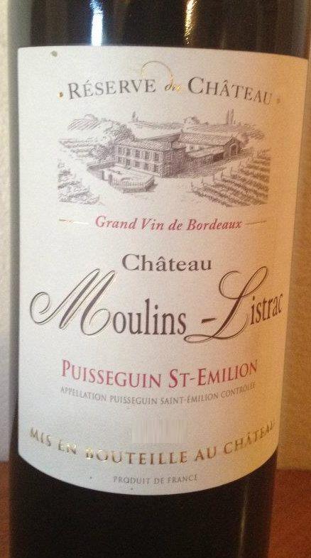 Chateau Moulins-Listrac 2011 – Puisseguin Saint-Emilion