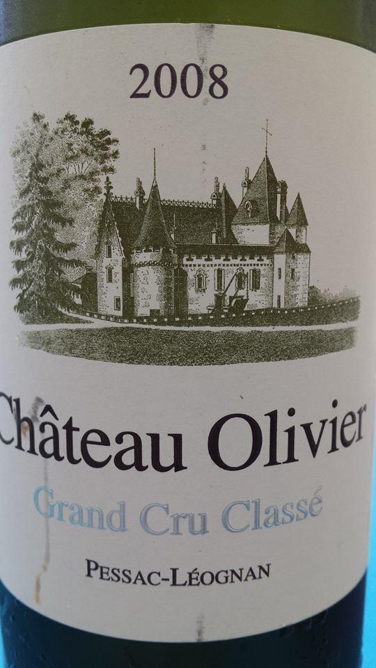 Château Olivier 2008 – Grand Cru Classé – Pessac-Léognan