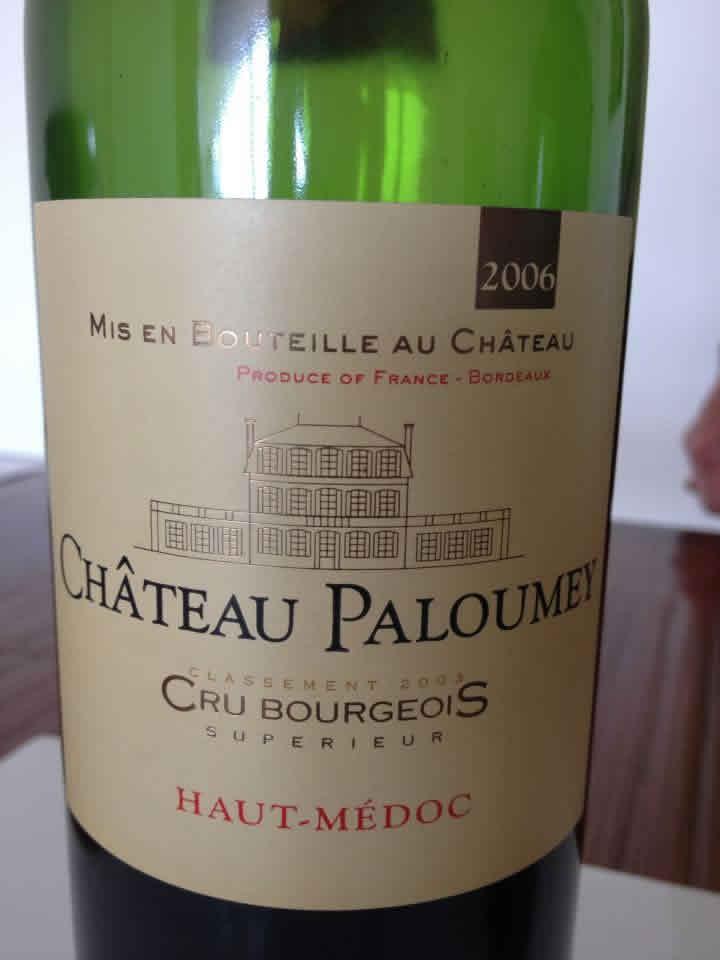 Château Paloumey 2006 – Haut-Médoc – Crus Bourgeois