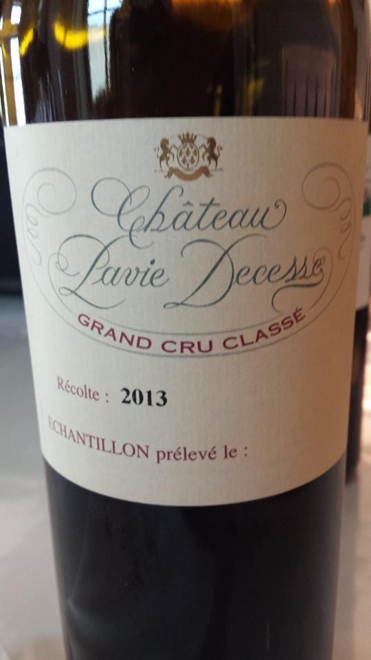 Château Pavie Decesse 2013 – Grand Cru Classé – Saint-Emilion Grand Cru