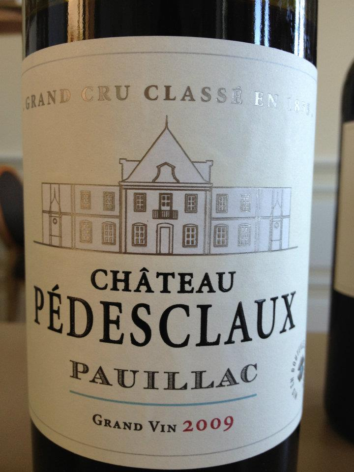 Château Pédesclaux 2009 – Grand Cru Classé de Pauillac