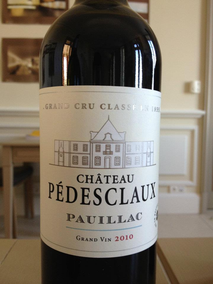 Château Pédesclaux 2010 – Grand Cru Classé de Pauillac