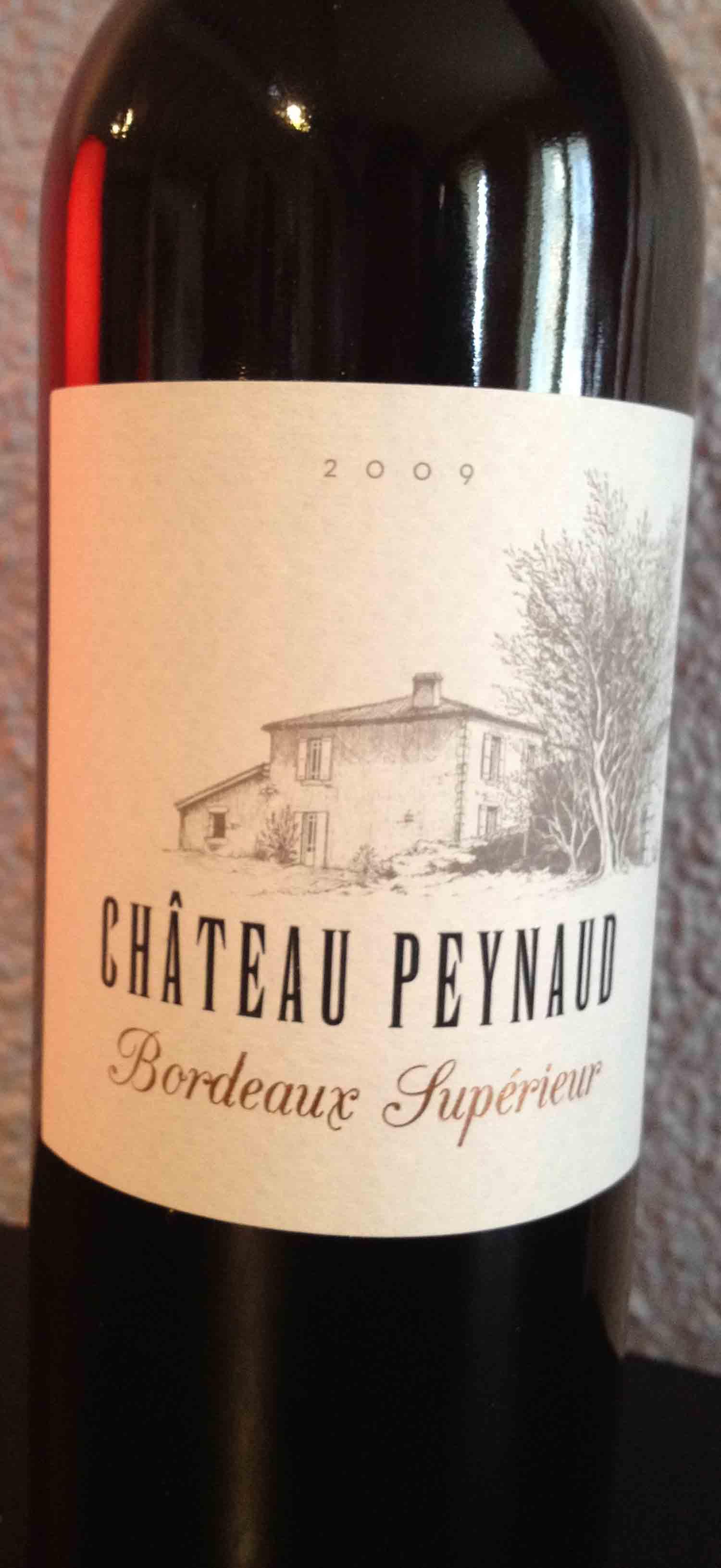 Château Peynaud 2009 – Bordeaux Supérieur