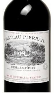 Château Pierrail 2011 – Bordeaux Supérieur